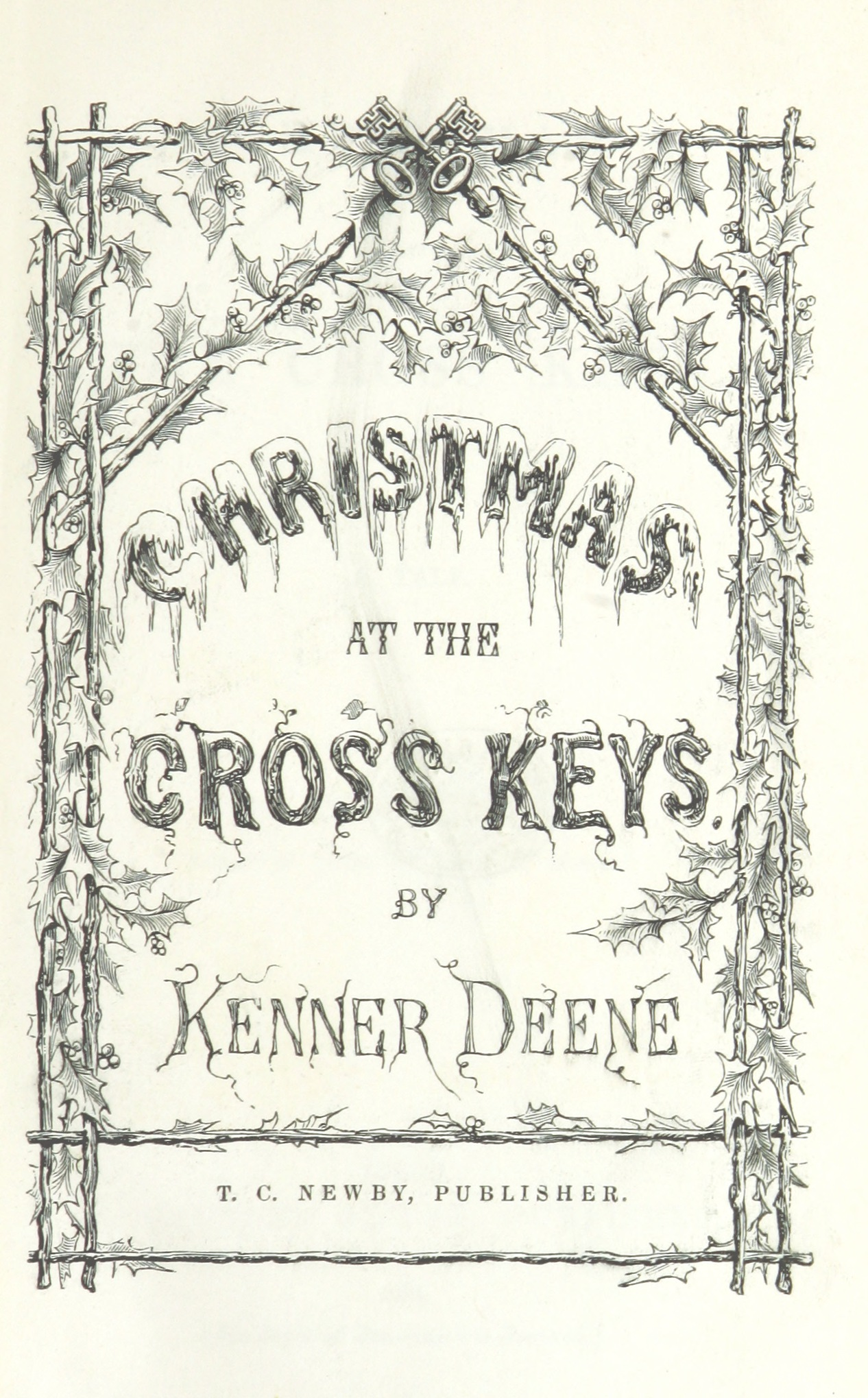 File:Image taken from page 11 of \'Christmas at the Cross Keys. A ...