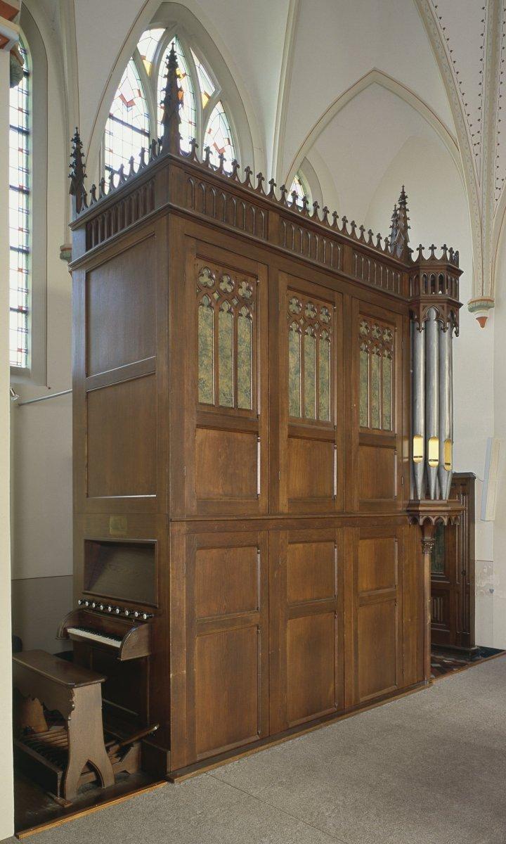 bestandinterieur aanzicht orgel orgelnummer 135 beek 20417381 rce