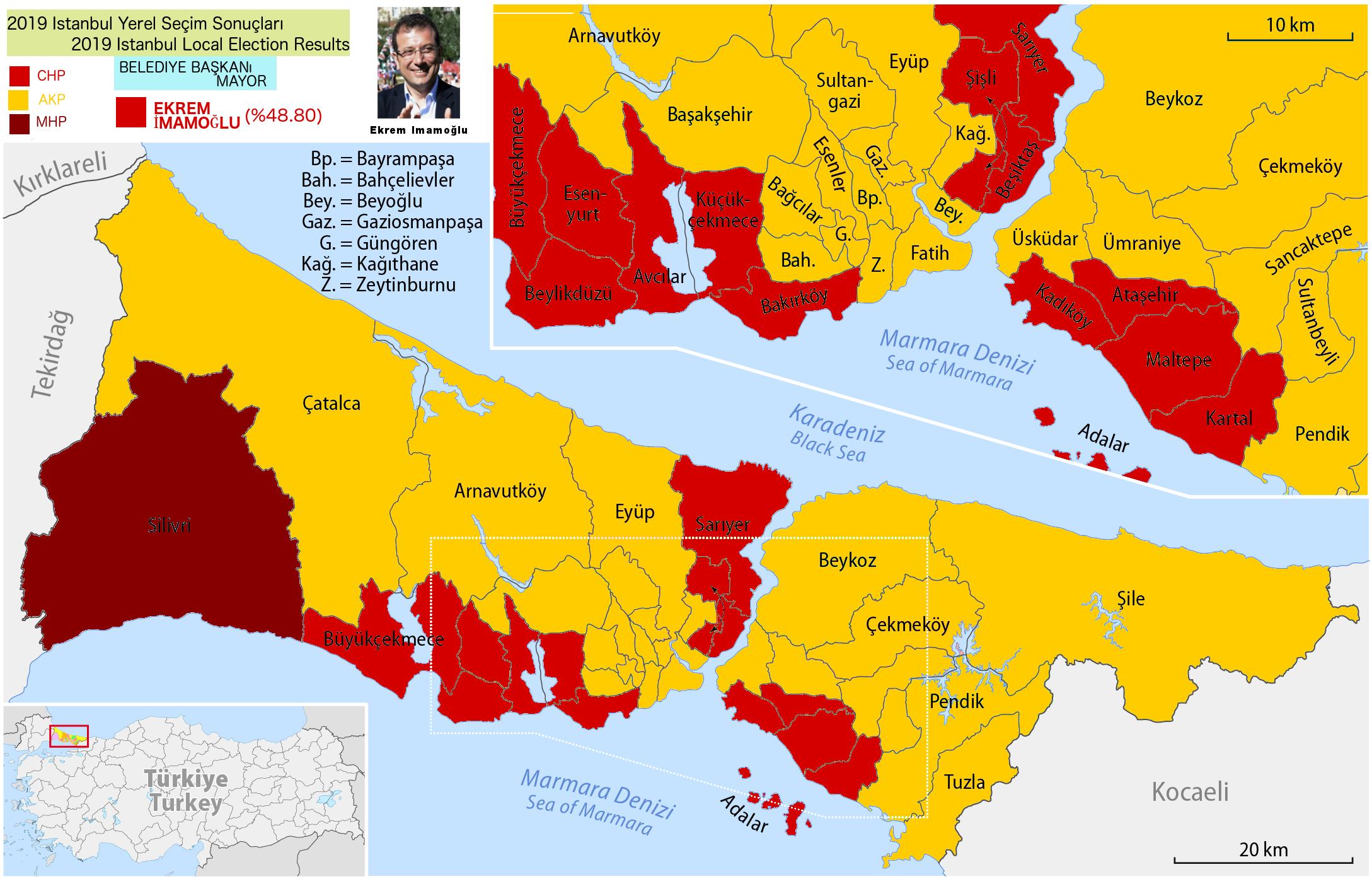 Istanbul Wahlergebnis