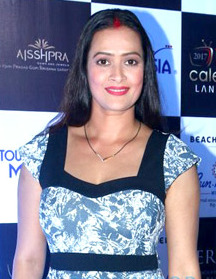 Jasveer Kaur at launch of Telly Calendar 2017.jpg