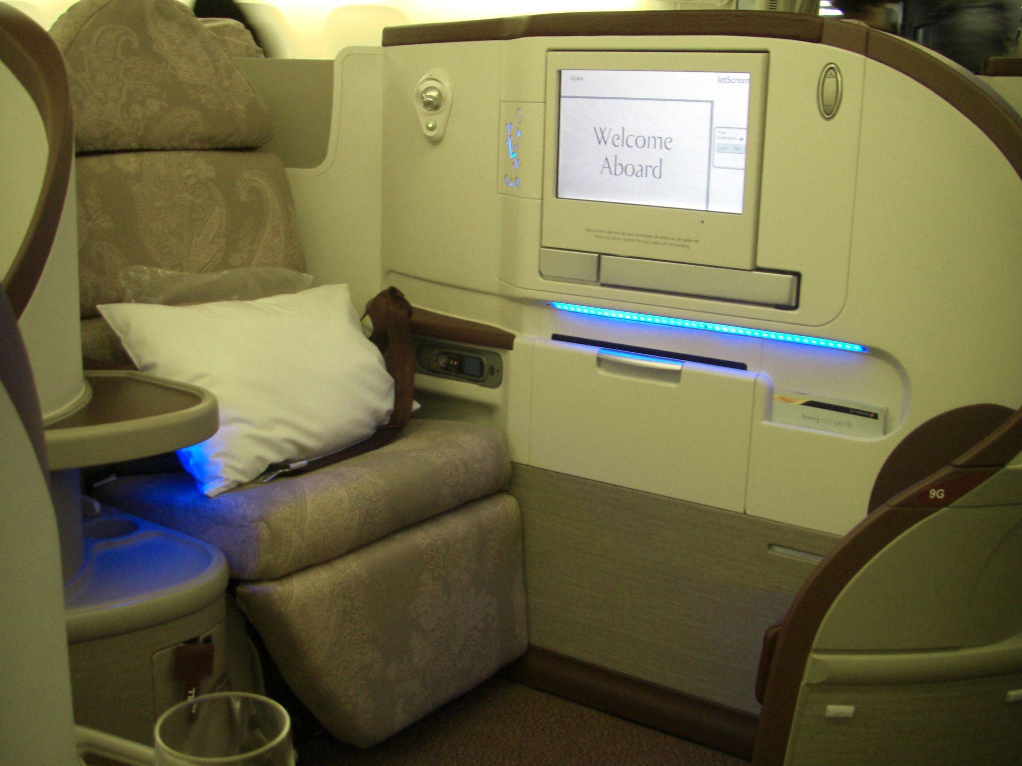 Jet Airways, Première Class Cabin | Aspire Travel Club