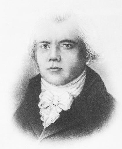 Depiction of Johan Gadolin