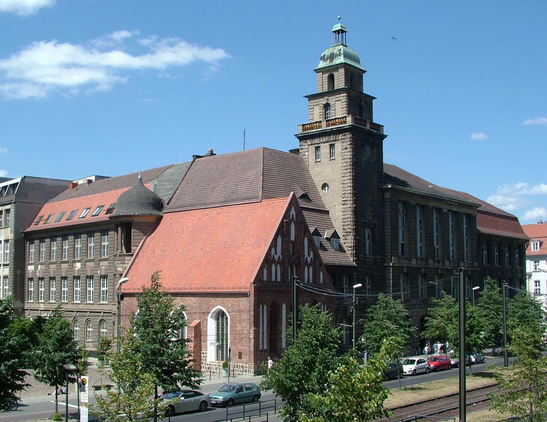 Capela do Espírito Santo, um dos prédios mais antigos de Berlim