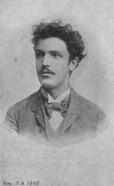Karel Hlaváček in 1895