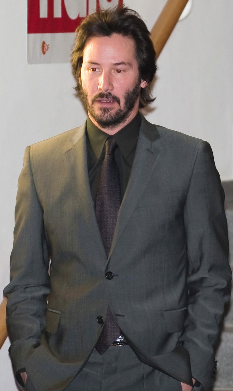 Keanu Reeves Größe