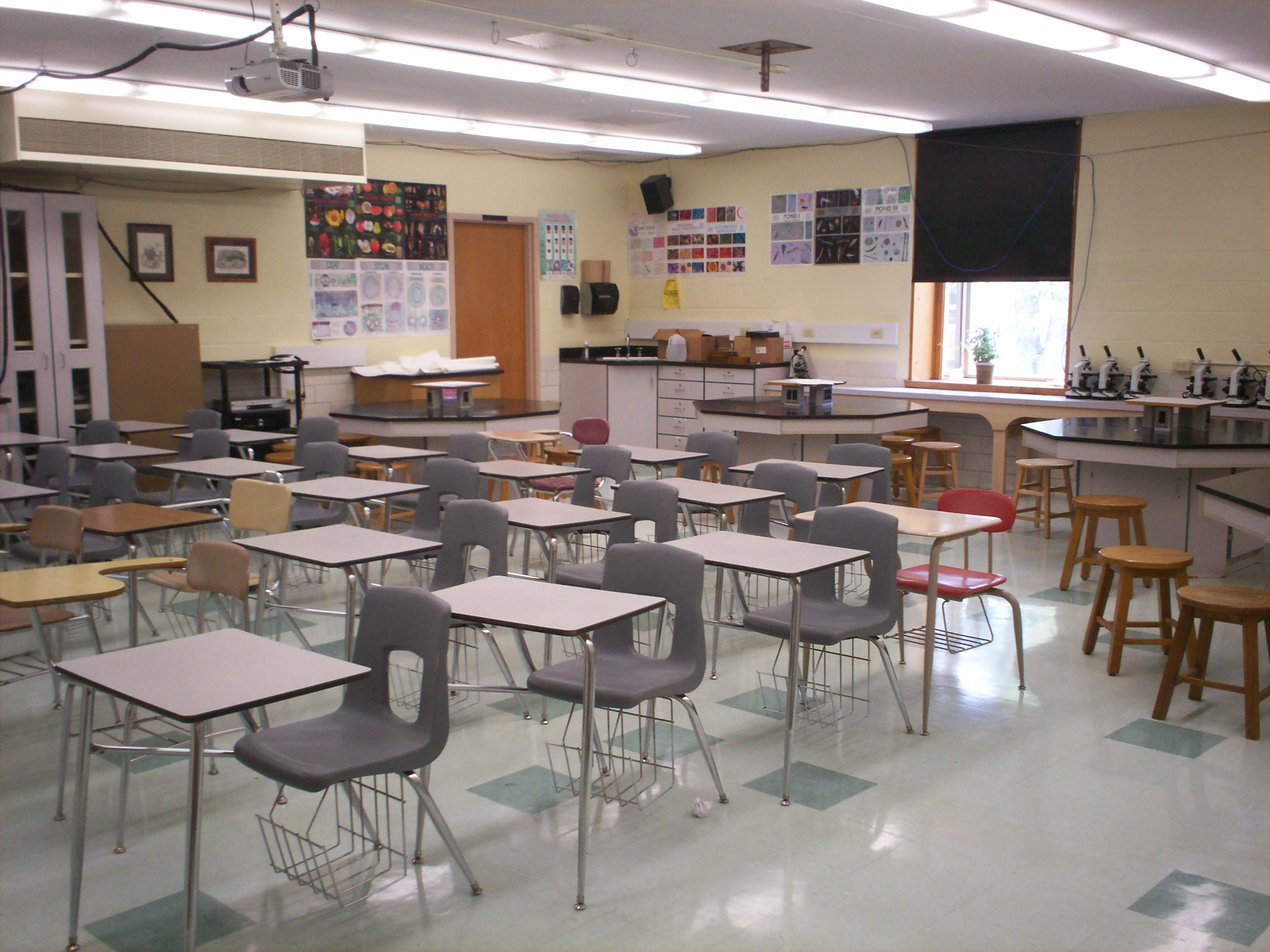 High School Physics Classroom Design ~ File kent roosevelt science g wikimedia commons