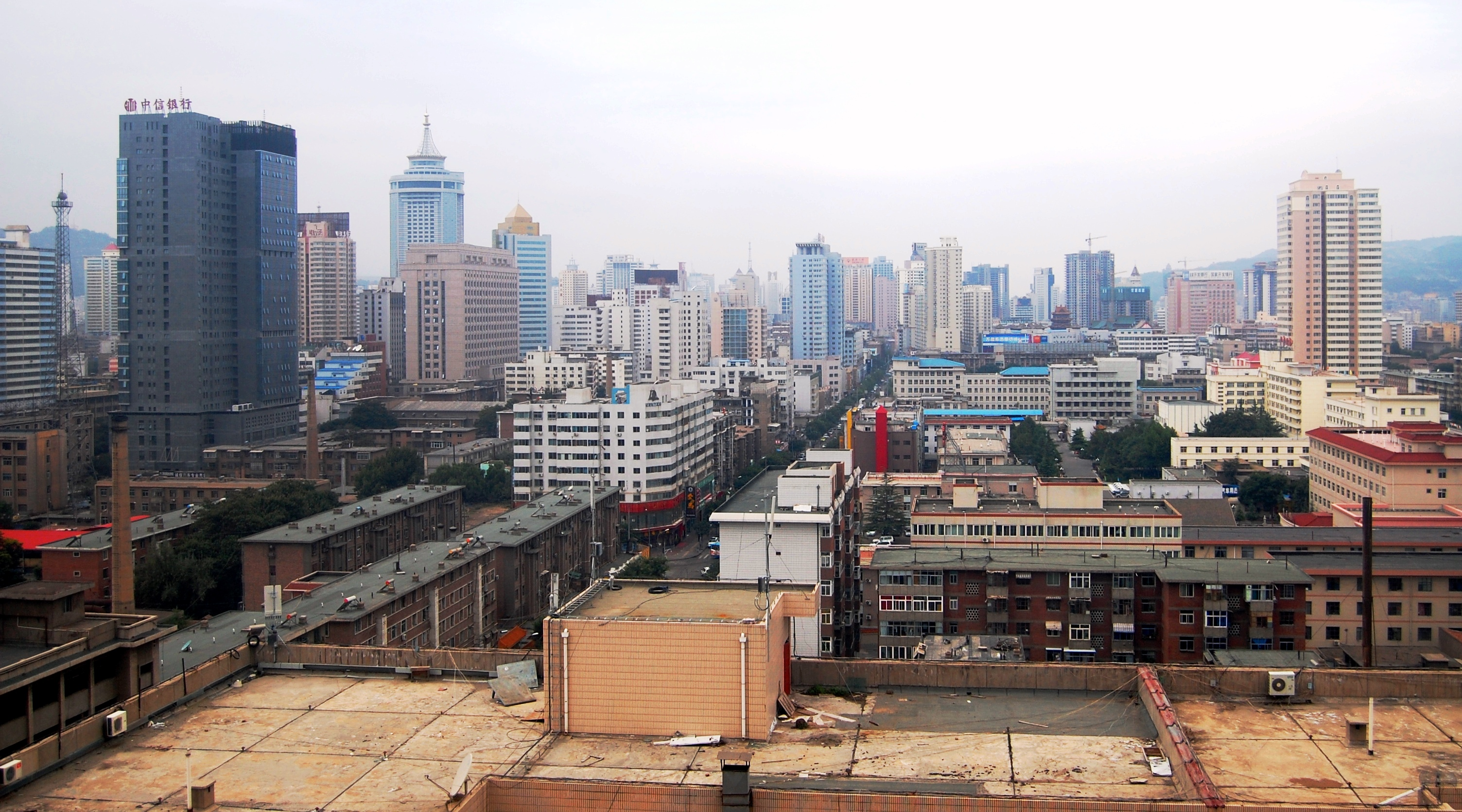 Lanzhou China on the northern silk road