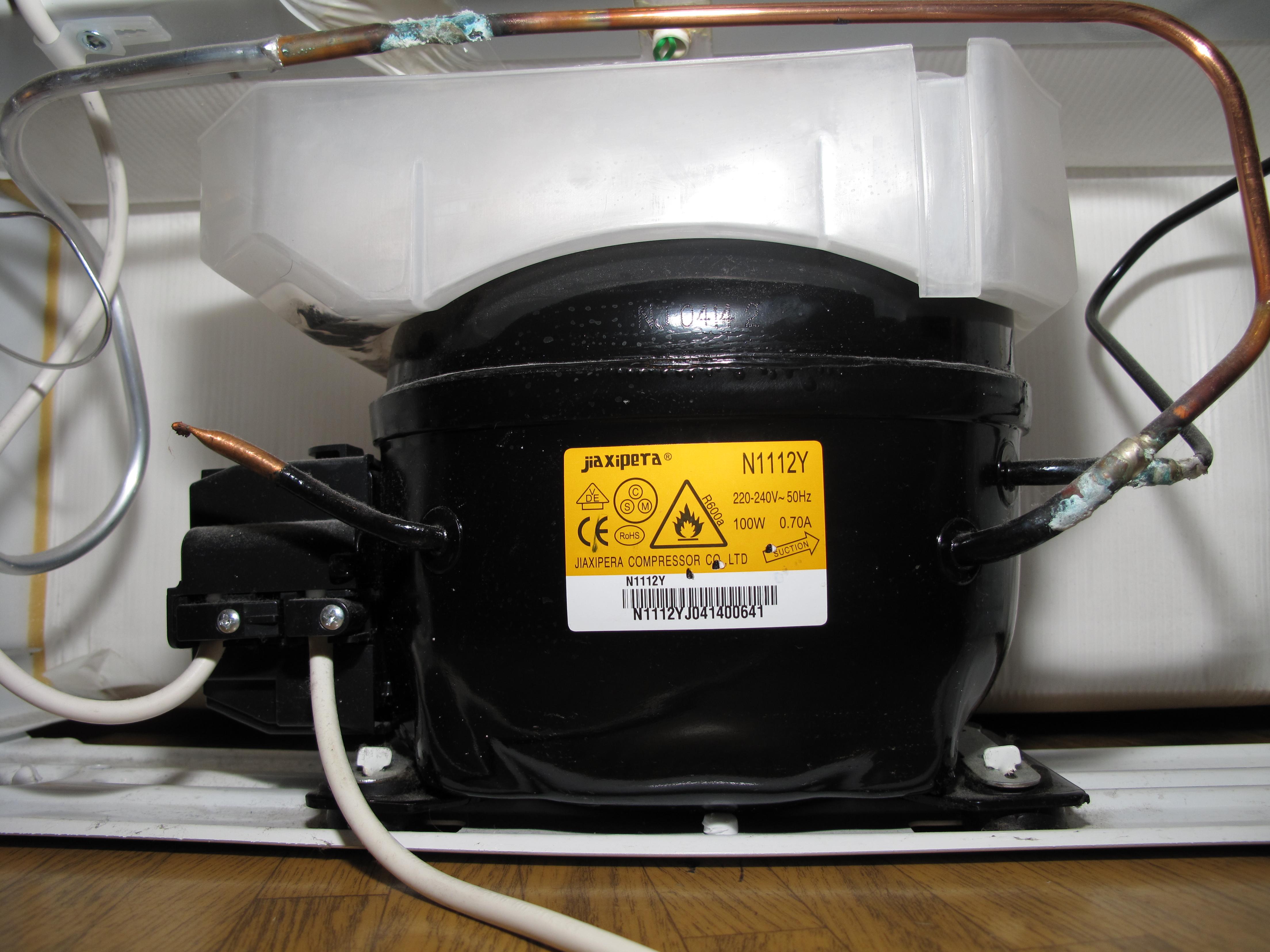 Zanussi Fridge Freezer Gas Leak
