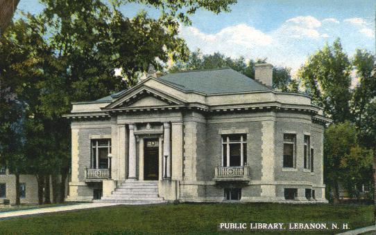 Lebanon Public Library 1909