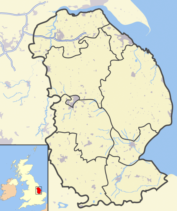 Map Of England Lincolnshire.File Lincolnshire Outline Map With Uk Png Wikimedia Commons