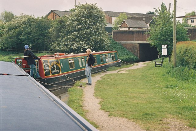 Llangollen Canal - Grindley Brook Locks - geograph.org.uk - 129659