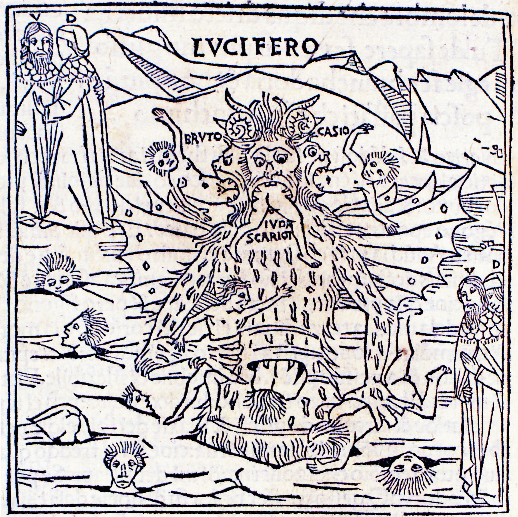 allegorical meaning in dante s inferno circle 8 Dante divided hell up into three major subdivisions according to the type of sin, but with two areas that sit apart from the sinful outside of hell proper is the vestibule, where the cowardly souls who refused to commit to either virtue or vice are punished.