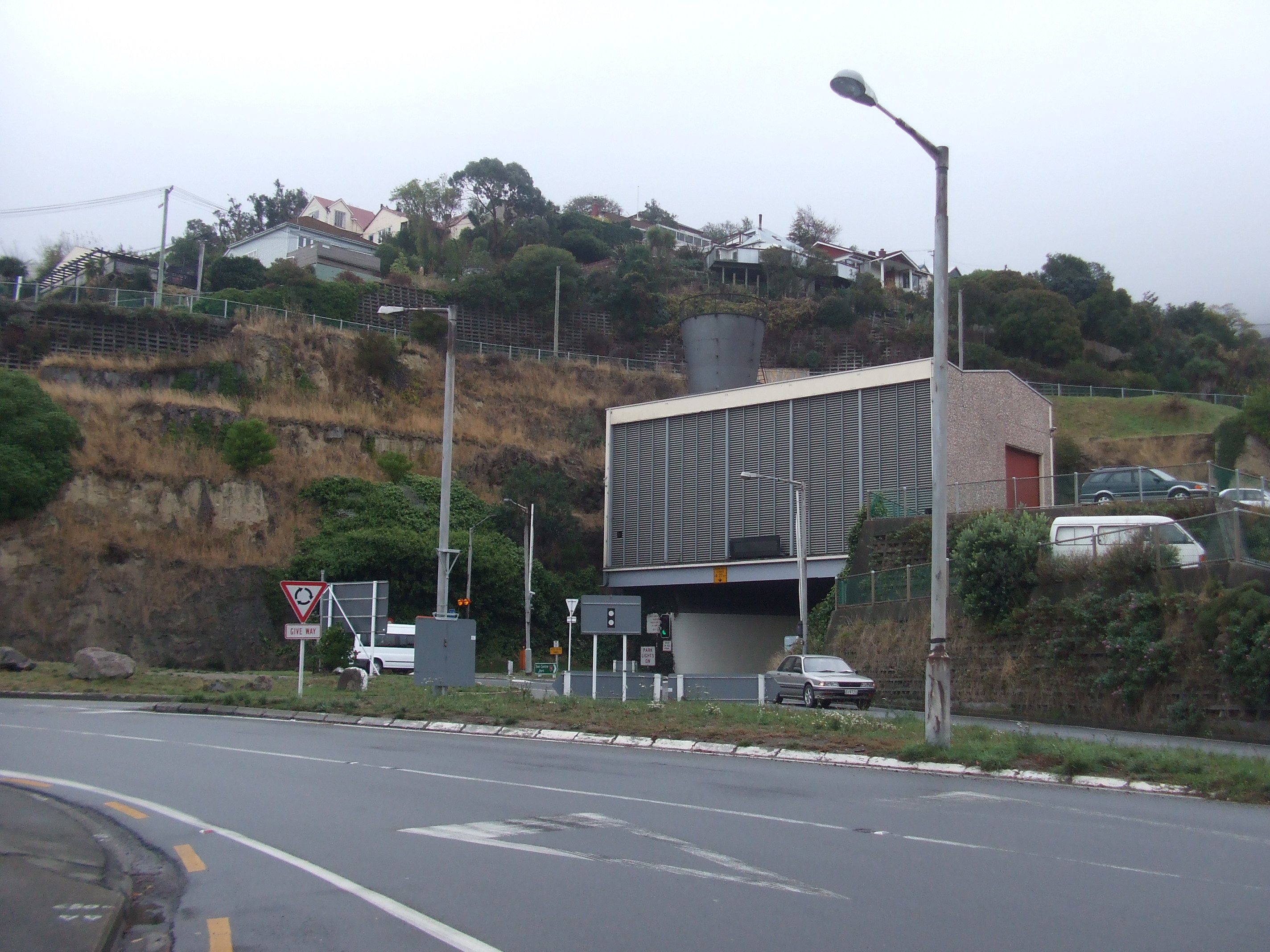 Lyttelton road tunnel - Wikipedia