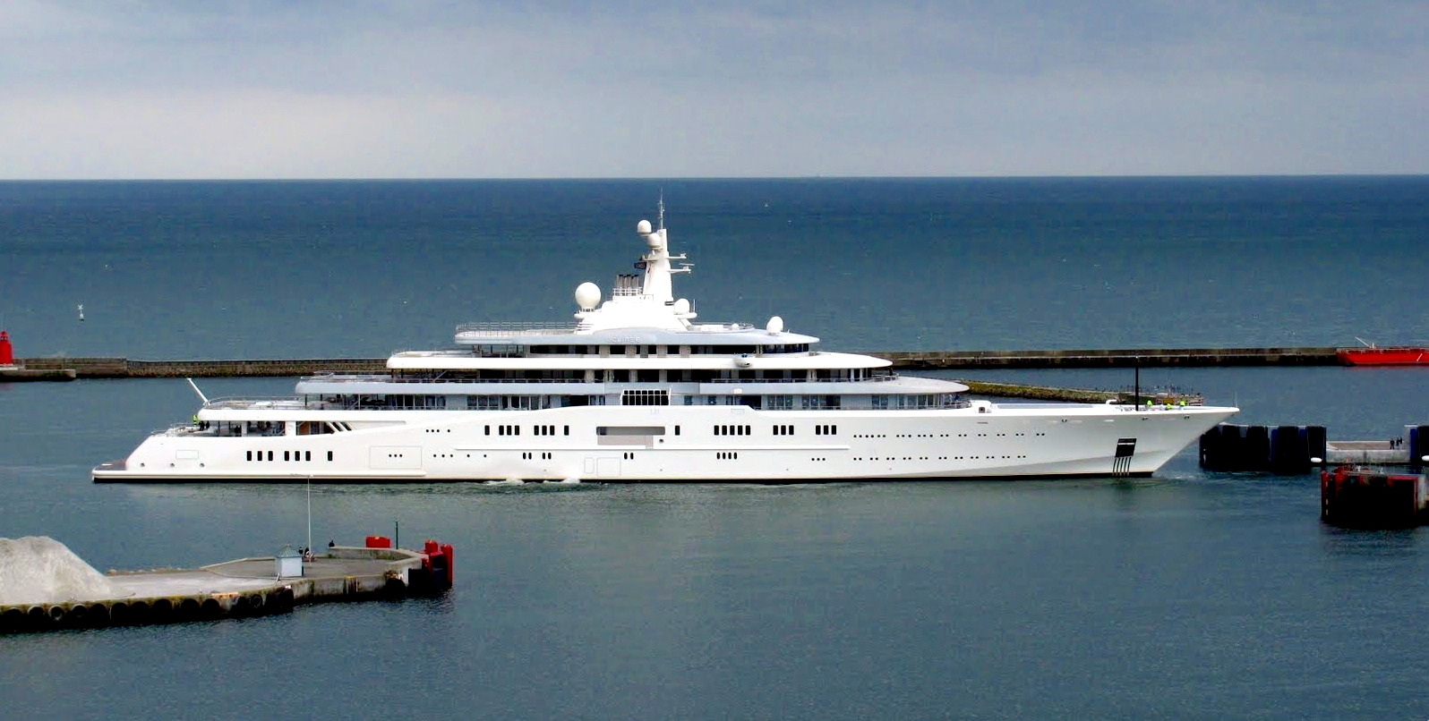 The Most Beautiful Celebrity Yachts MYEclipse Frederikshavn Denmark