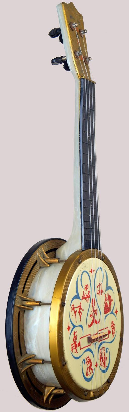 Maccaferri Mastro Plastic Banjo black Americana