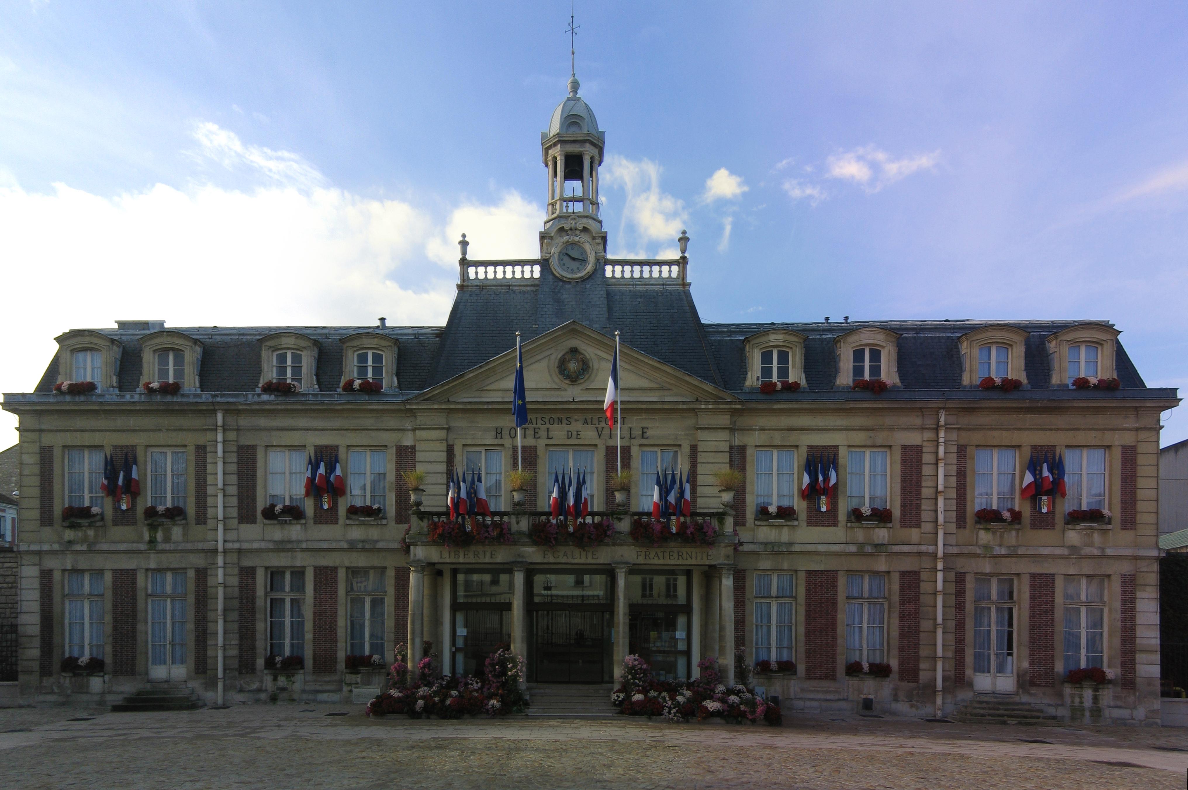 Fichier mairie de maisons wikip dia - Brossette maison alfort ...