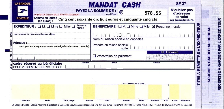 Mandat postal Wikiwand