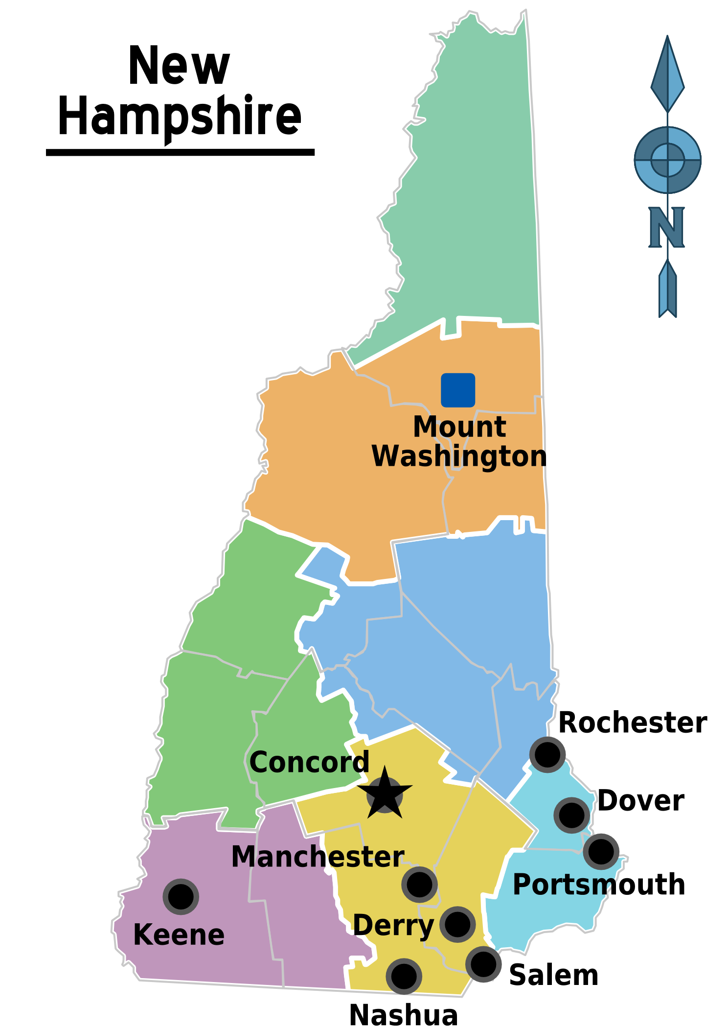 White Mountains Region - Wikipedia on coos county nh town map, alton nh town map, new boston nh town map, gorham nh town map, pelham nh town map, carroll county nh town map, gilmanton nh town map, newton nh town map, peterborough nh town map,