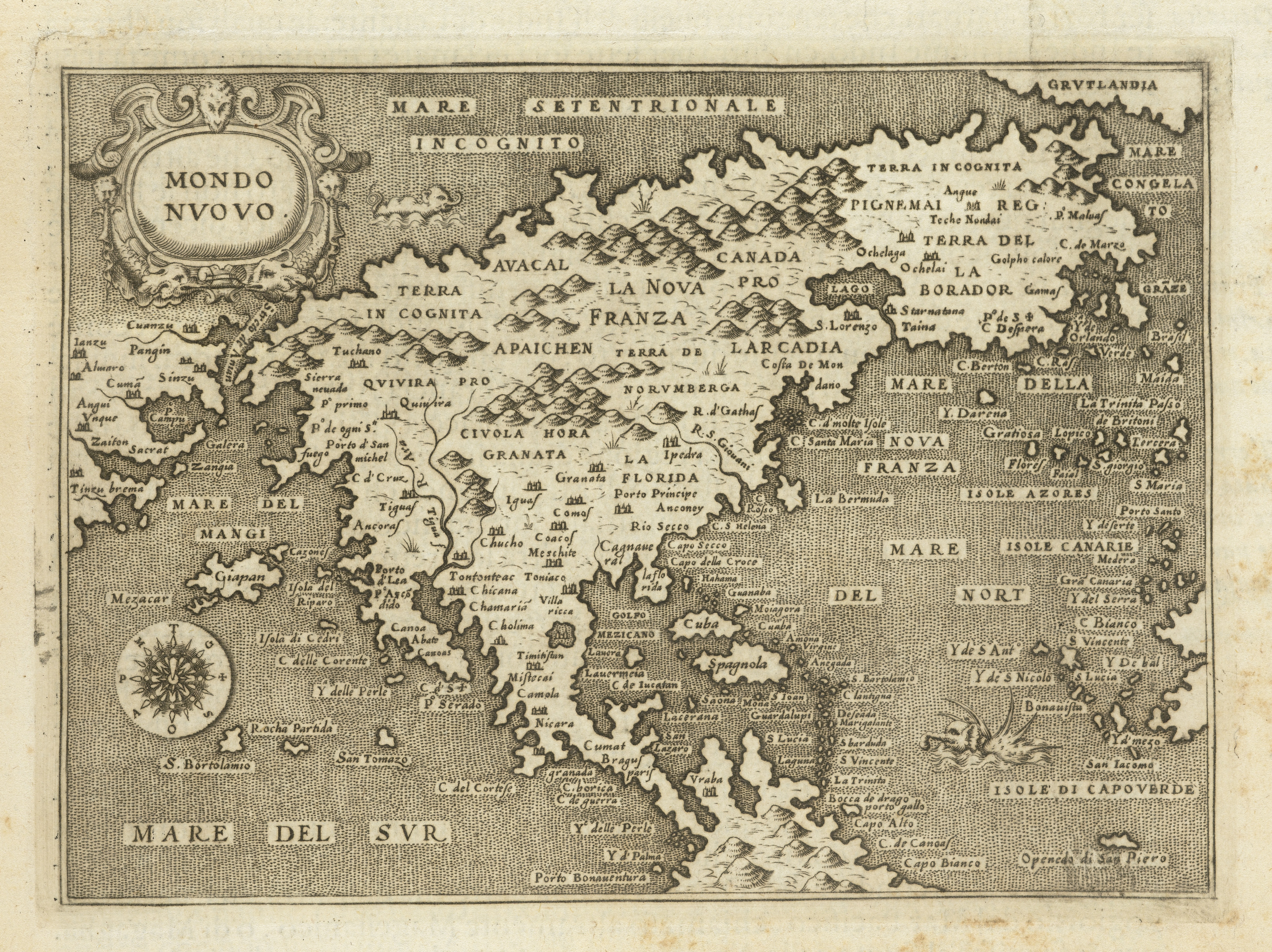 File Map Of The New World Wellcome L0064140 Jpg Wikimedia Commons