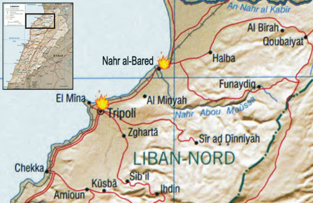 timeline of the 2007 lebanon conflict wikipedia