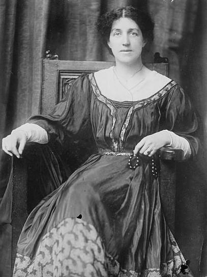 May Morris, 1909