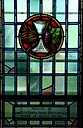Memorial Stained Glass, Yeo Hall, Chapel, Royal Military College of Canada H6888 LtCol Thomas Gelley.jpg