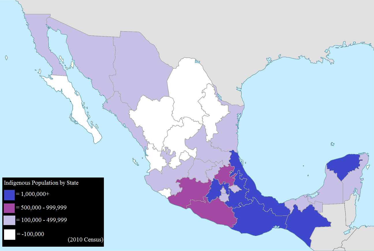 filemexico map indigenous population 2010 smallerpng