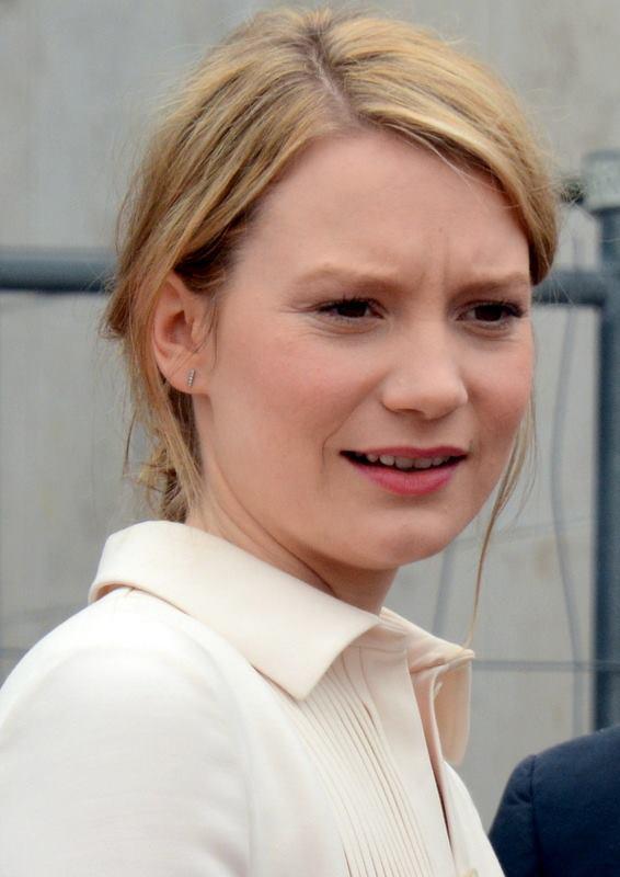 Mia Wasikowska Größe
