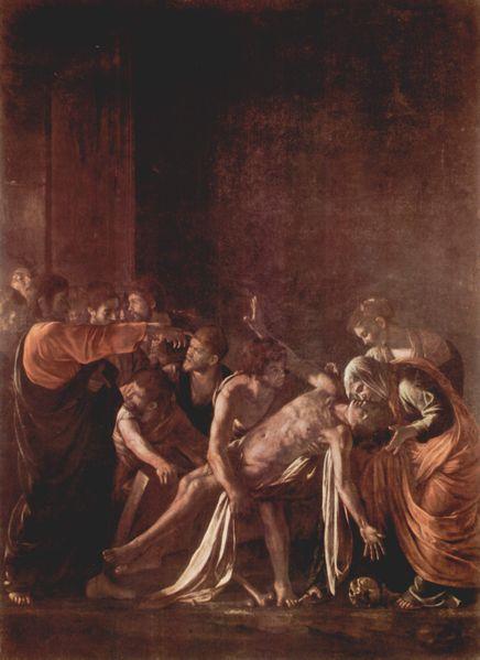 http://upload.wikimedia.org/wikipedia/commons/f/fb/Michelangelo_Merisi_da_Caravaggio_Resurrezione_di_Lazzaro_Messina_Museo_Regionale.jpg