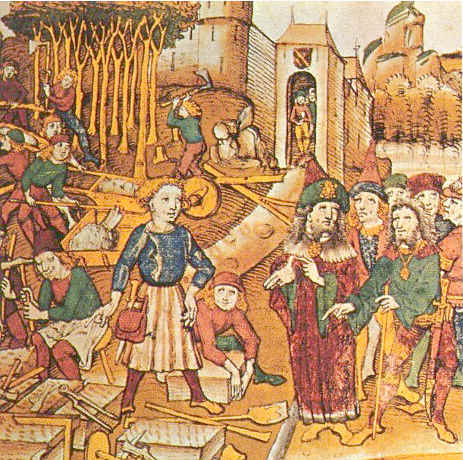 Painting of the Middle Ages