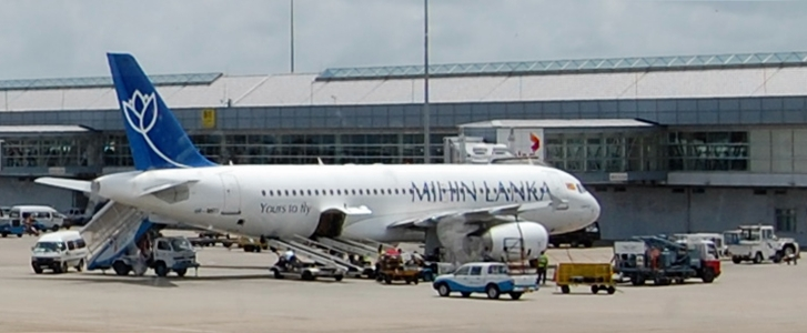 File:Mihin Lanka airplane at Bandaranaike International Airport.JPG