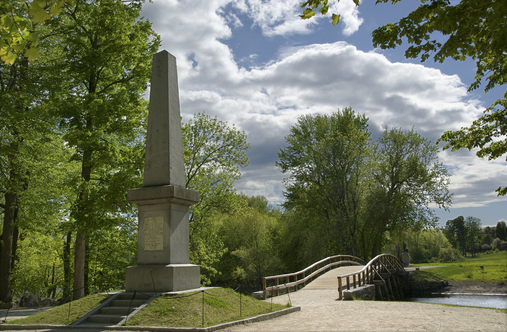 Minute Man Park in Concord MA