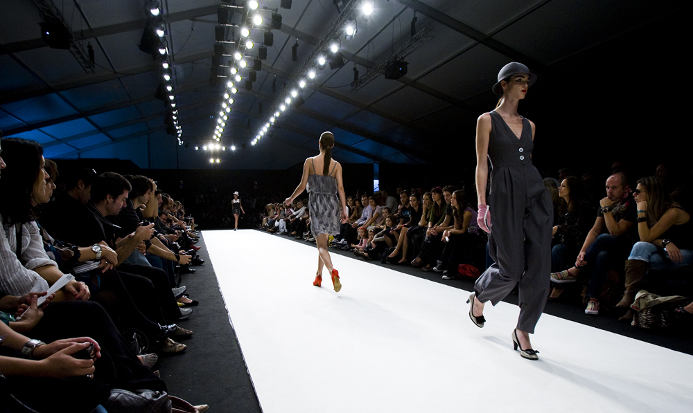 Why is the runway for models called a catwalk?
