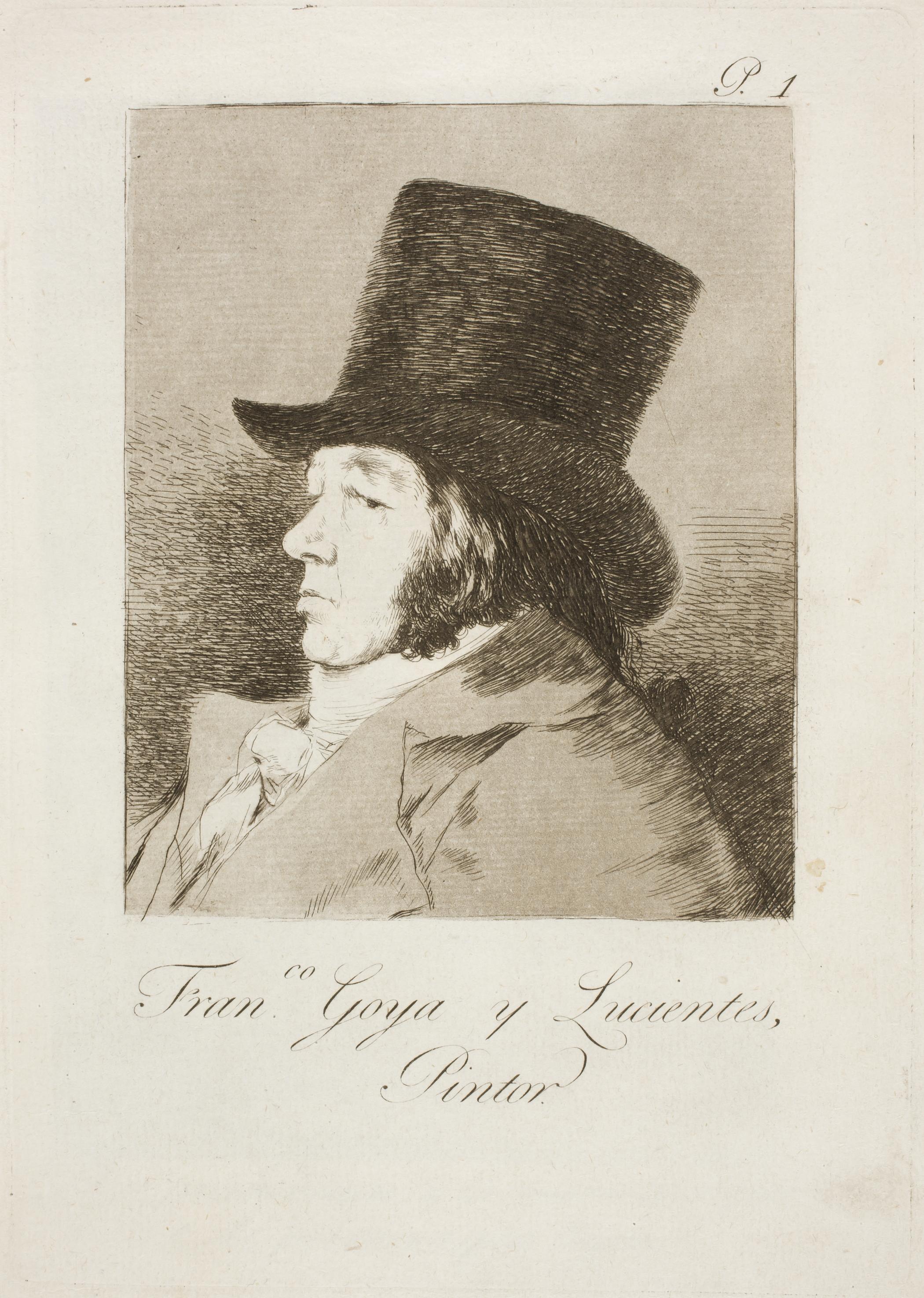 Каприз №1. Франсиско Гойя и Лусиентес, художник.