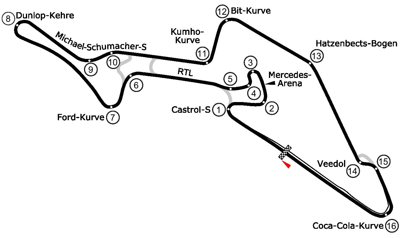 File N 252 Rburgring Grand Prix Strecke Png Wikimedia Commons