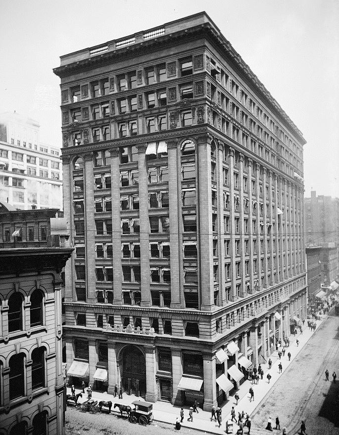 Newyork Life Insurance >> New York Life Insurance Building Chicago Wikipedia