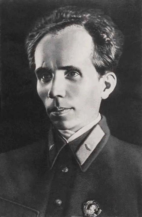 Nikolai Ostrovsky cover