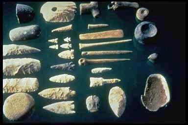 Stenverktyg.
