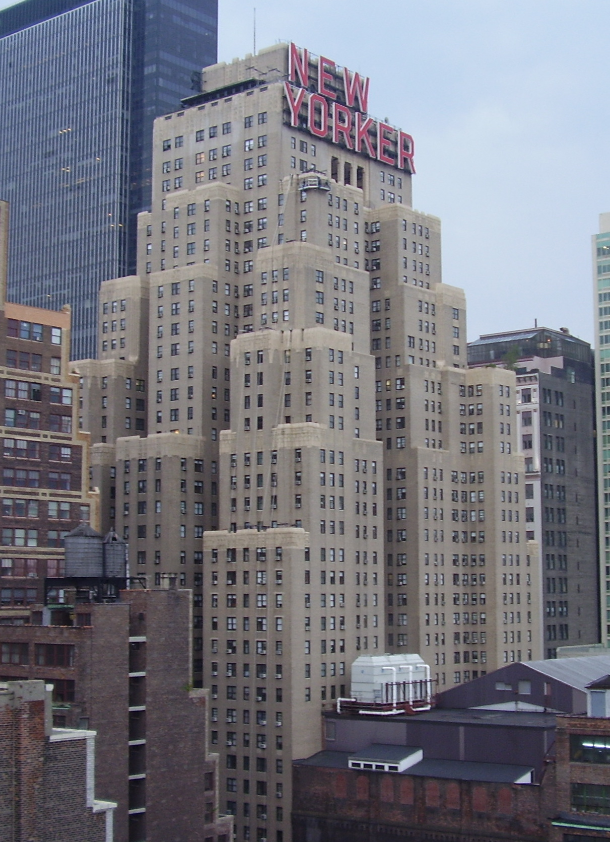 Wyndham new yorker hotel wikiwand for The wyndham