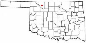 Avard, Oklahoma Unincorporated community in Oklahoma, United States