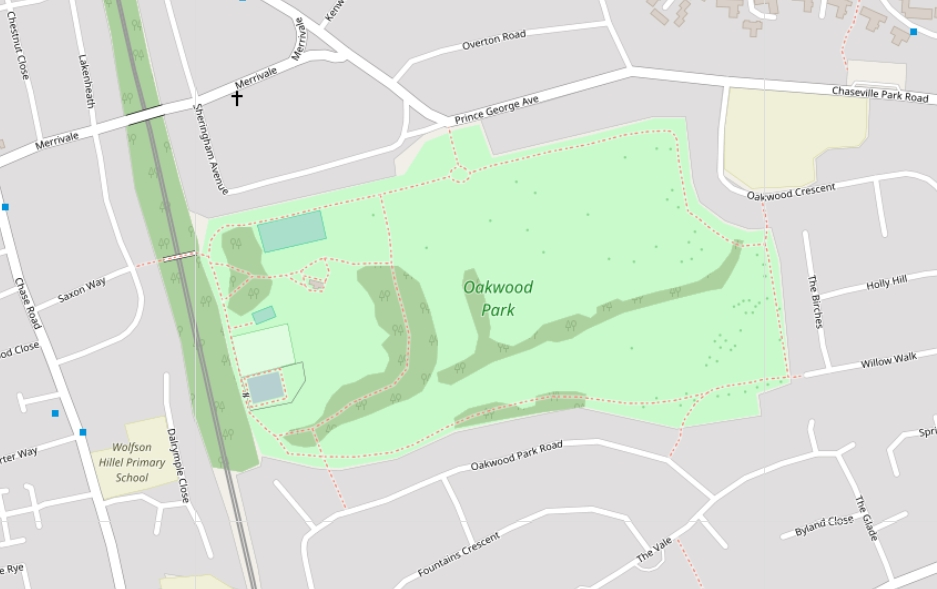 Oakwood Park, Enfield - Wikipedia