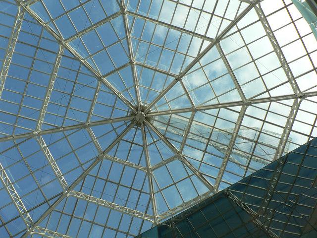 File Octagonal Skylight Capitol Centre Cardiff