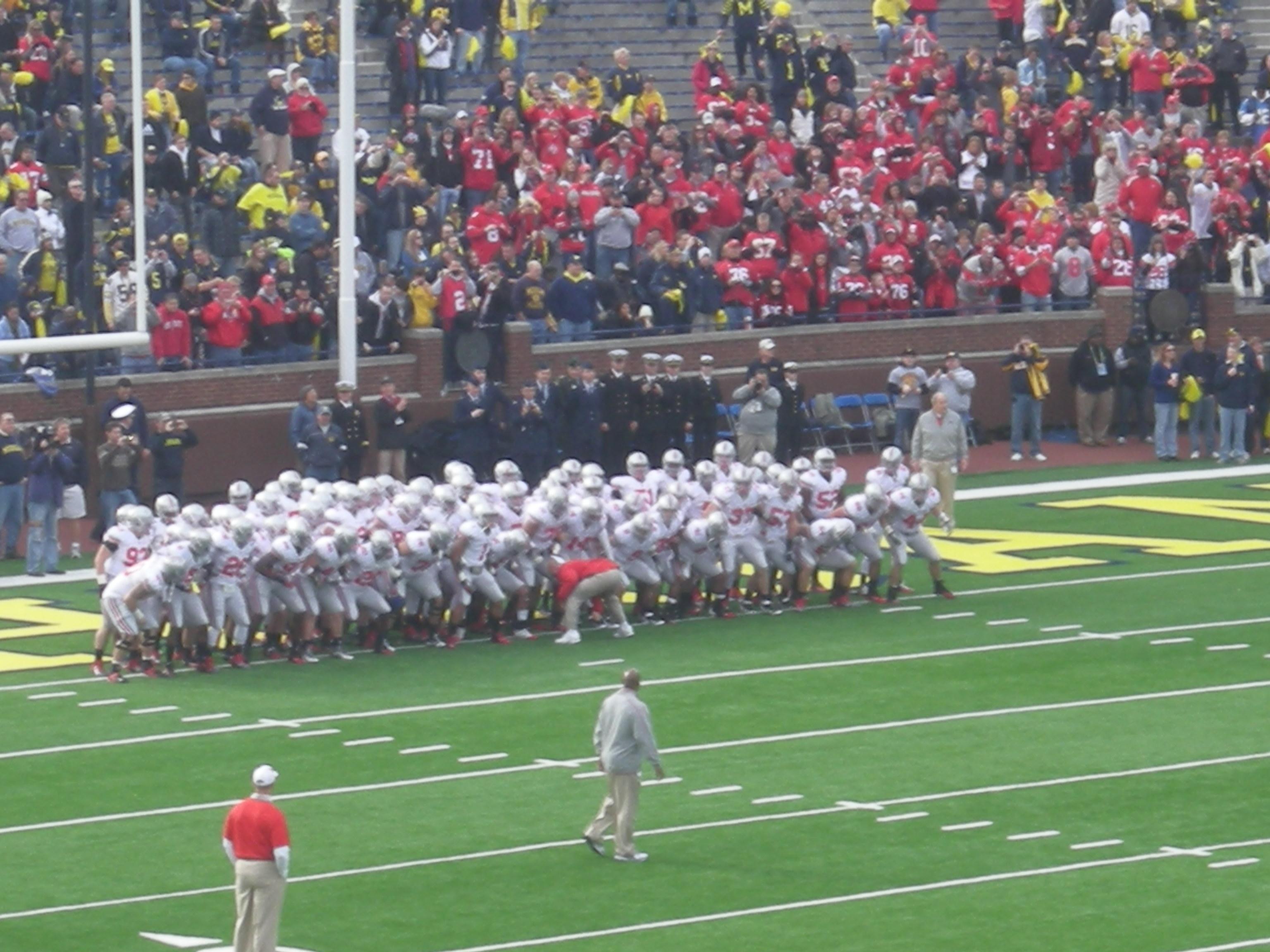 FileOhio State Vs Michigan Football 2011 01 Ohio Pre Game