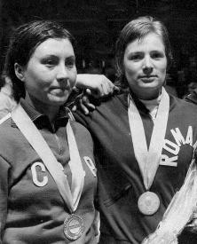 Olga Knyazeva, Ecaterina Stahl 1975.jpg