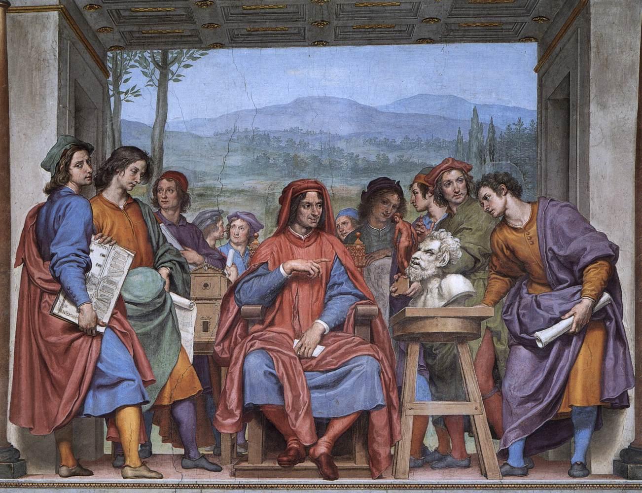 Ottavio Vannini - Michelangelo Showing Lorenzo il Magnifico the Head of a Faun - Palazzo Pitti - Firenze.jpg