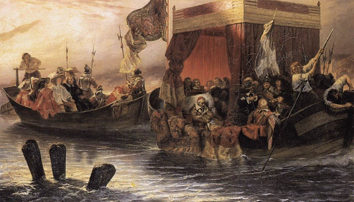 Paul_Delaroche_-_The_State_Barge_of_Card