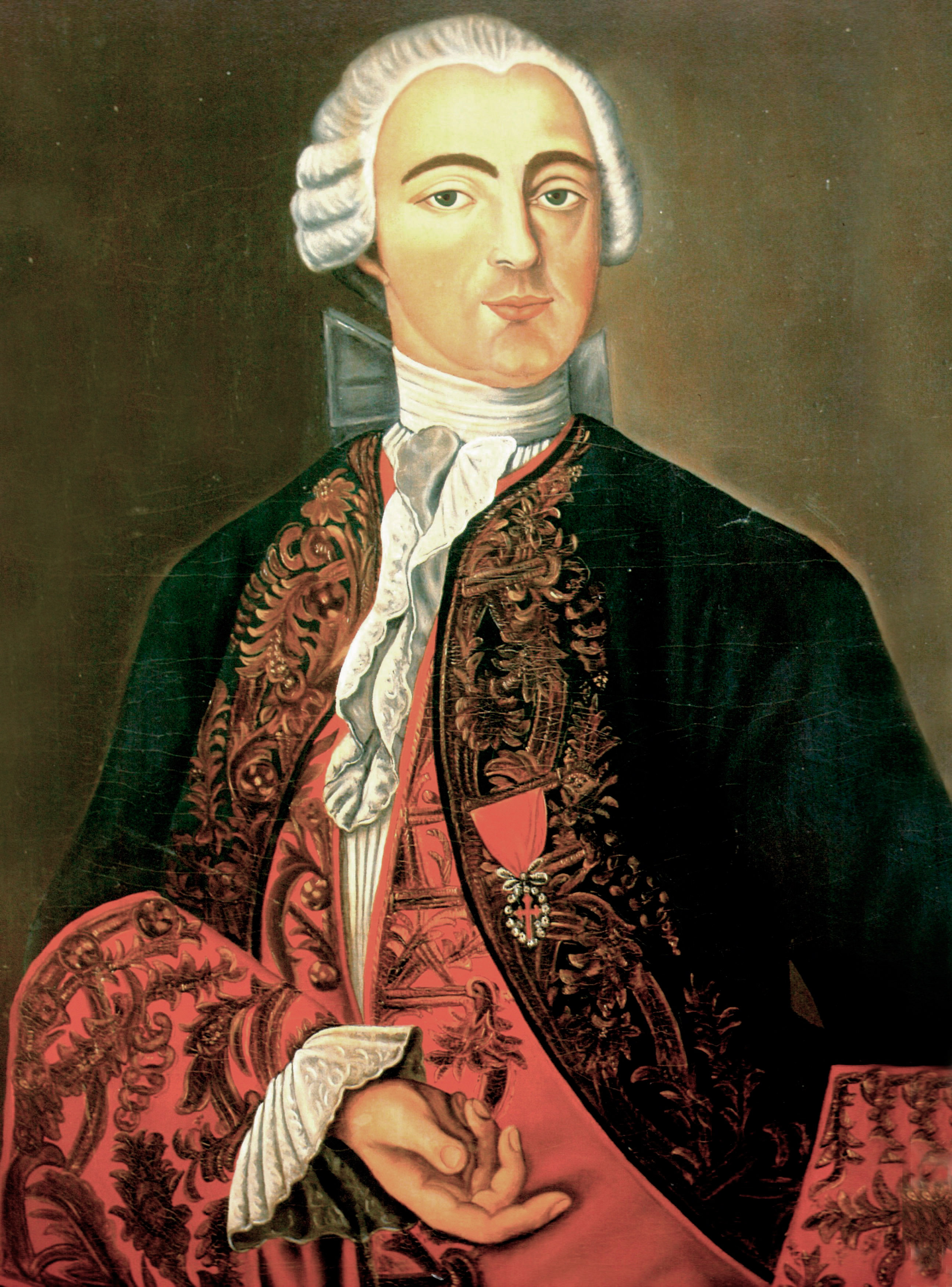 Depiction of Pedro de Cevallos