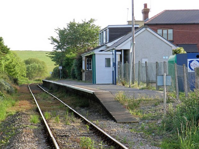 Penally railway station