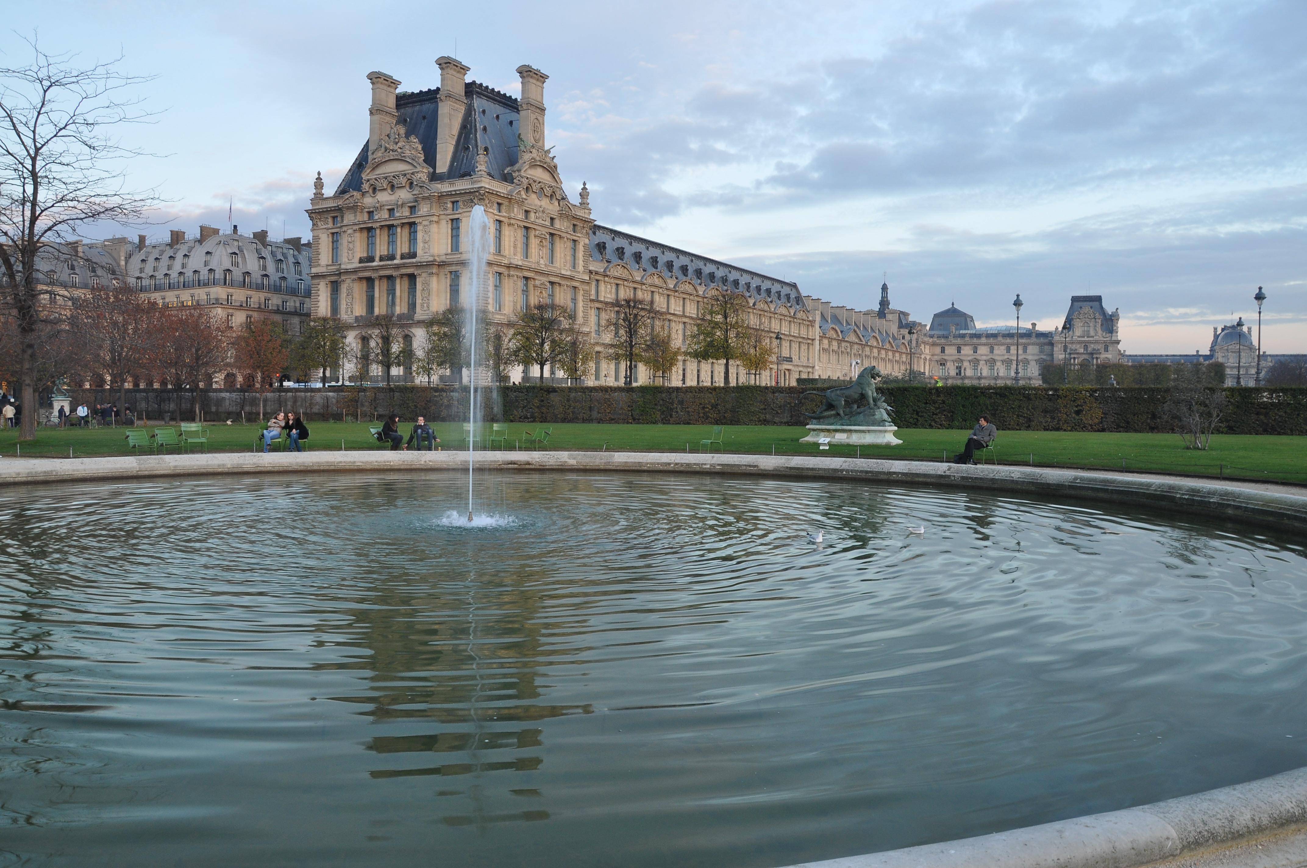 File petit bassin rond c t nord jardin des tuileries 001 for Bassin de jardin com