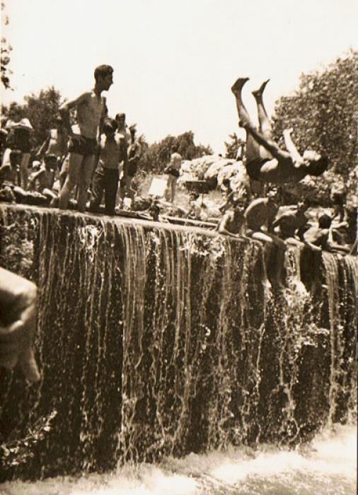 הסחנה , גן השלושה , שנות החמישים